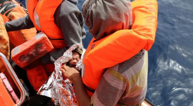 Migrant ships sink, killing 150 people in the Mediterranean Sea
