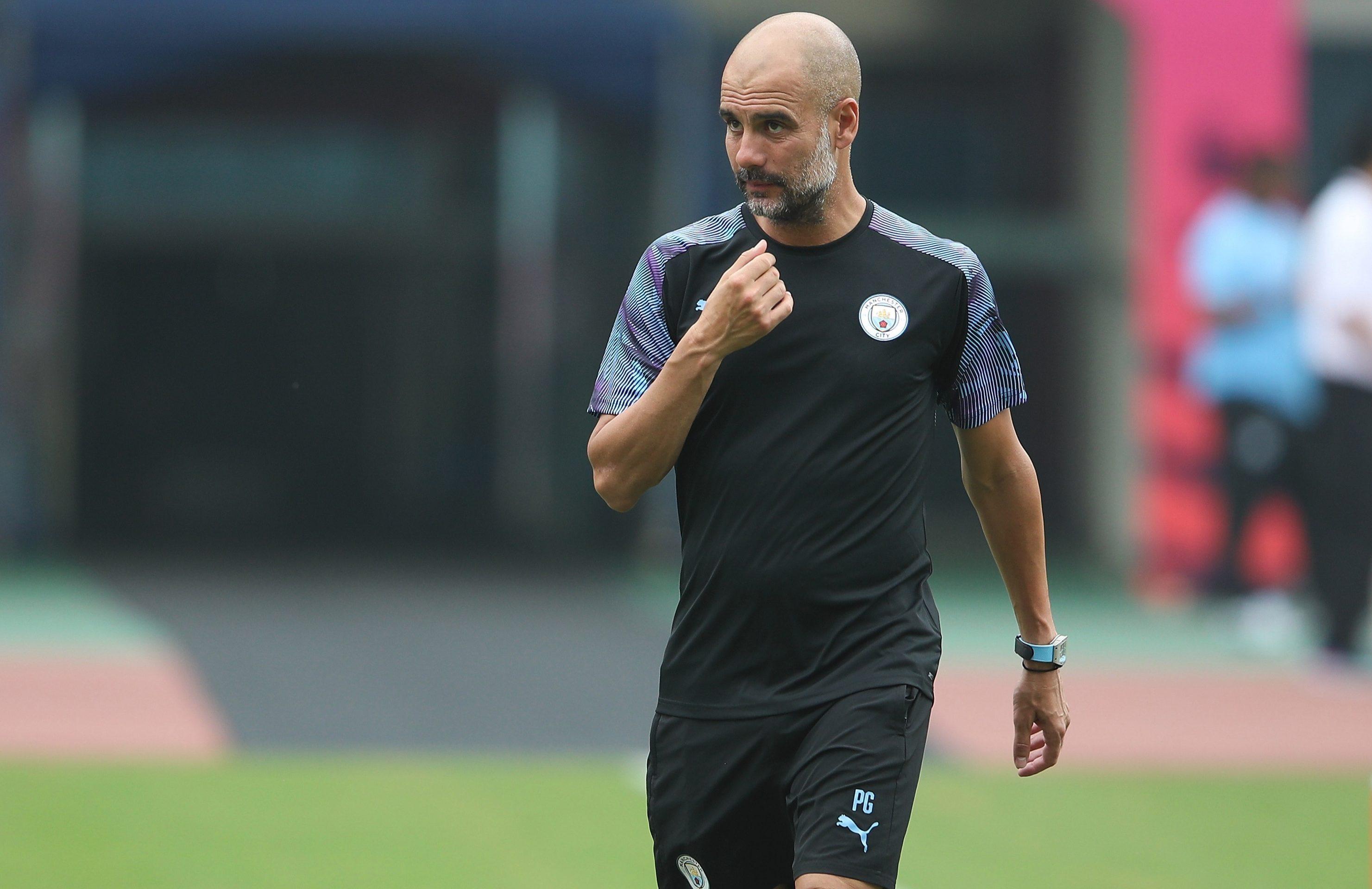 Pep Guardiola's Man City take on Kitchee in a pre-season friendly
