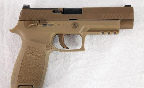 U.S. Army issues full-material release for new M17, M18 handguns