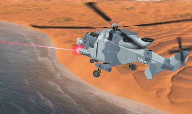 United Kingdom enters laser weapons race
