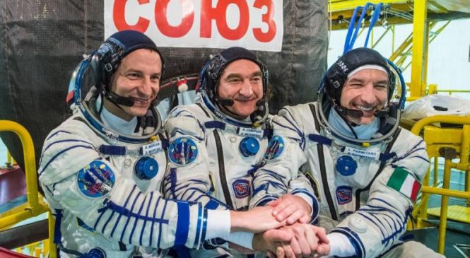 Watch live: Soyuz to carry new crew to space station on 50th anniversary of Apollo 11