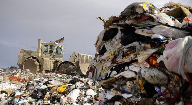 US top of the garbage pile in global waste crisis