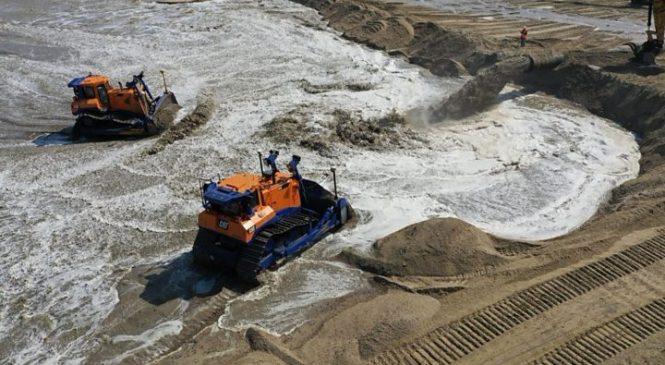 Vast sand scheme to protect Norfolk coast