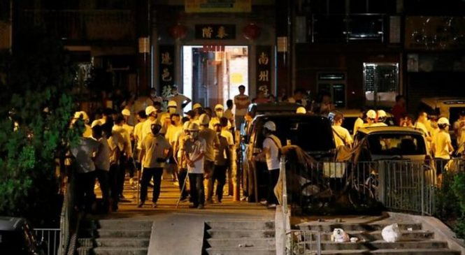 Hong Kong protests: Armed mob violence leaves city in shock