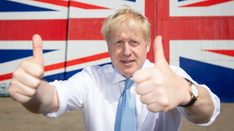 Boris Johnson wants countries of the UK to 'renew ties' to ensure a brighr future after Brexit