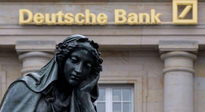 Deutsche Bank staff pack up as global cull of 18,000 jobs begins