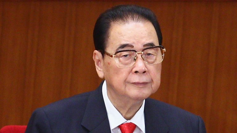 Li Peng, pictured in 2011