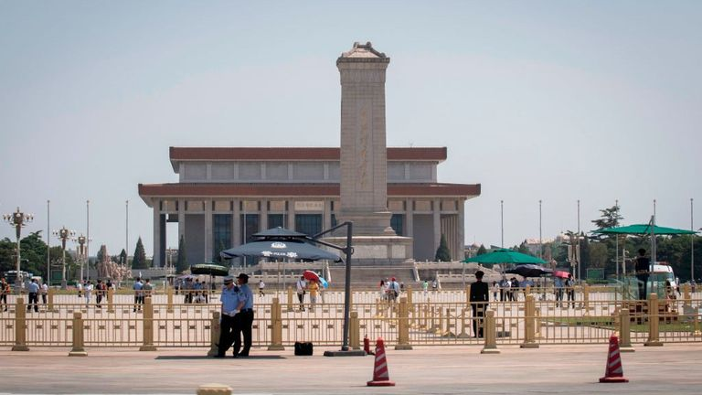 Tiananmen Square is quiet on the 30th anniversary of a bloody crackdown there