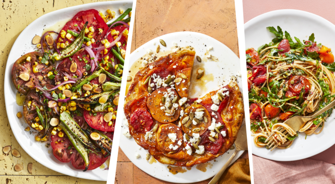 3 Healthy Recipes for Your Summer Tomatoes