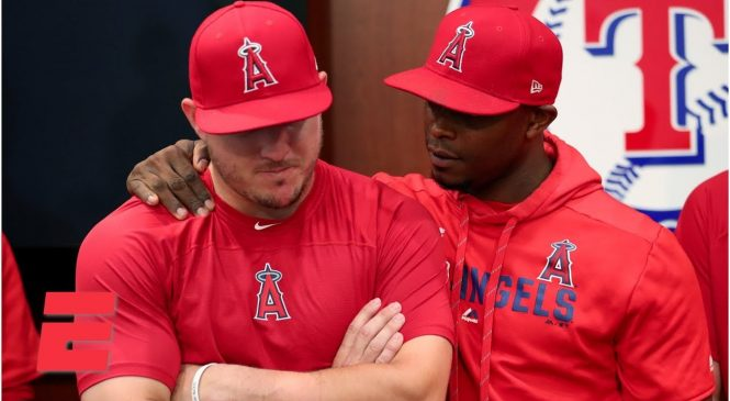 Watch: Emotional Angels win first game since Tyler Skaggs death