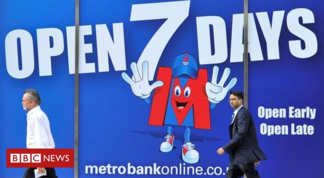 Metro top and RBS bottom in banks' customer ratings