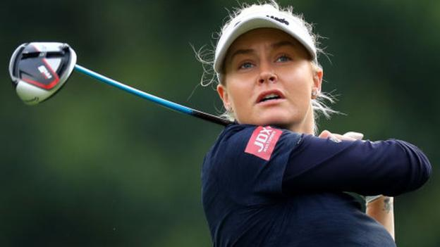 Women's British Open: Charley Hull makes strong start