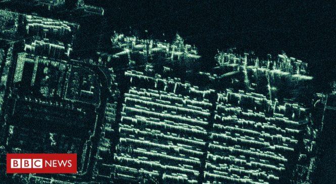 Iceye satellites return super-sharp radar images
