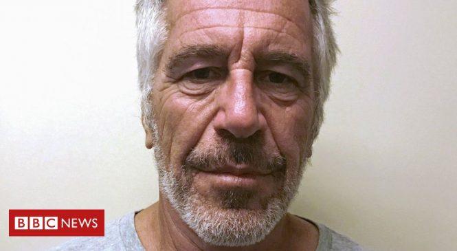 Jeffrey Epstein: Financier found dead in New York prison cell
