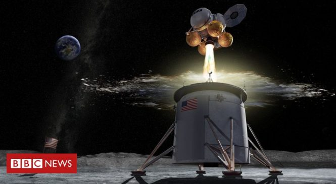 Nasa picks headquarters for Moon lander