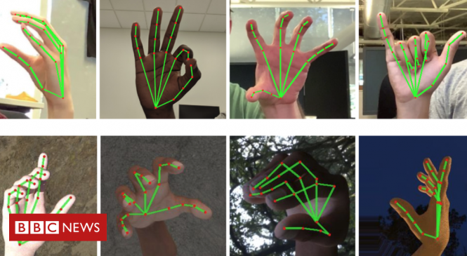 Google sign language AI turns hand gestures into speech
