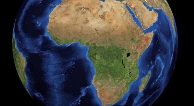 Area in Africa responsible for 1 billion tons of carbon emissions