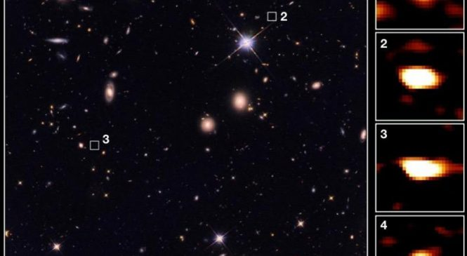 Astronomers find dozens of massive, ancient galaxies