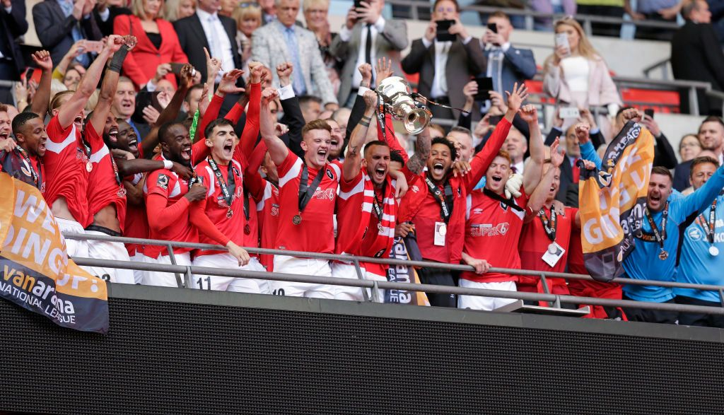 National League play-off winners Salford are preparing for their debut season in the Football League