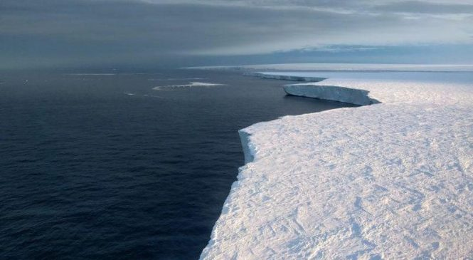 Wind shifts caused by human-induced global warming cause of West Antarctic's melting ice