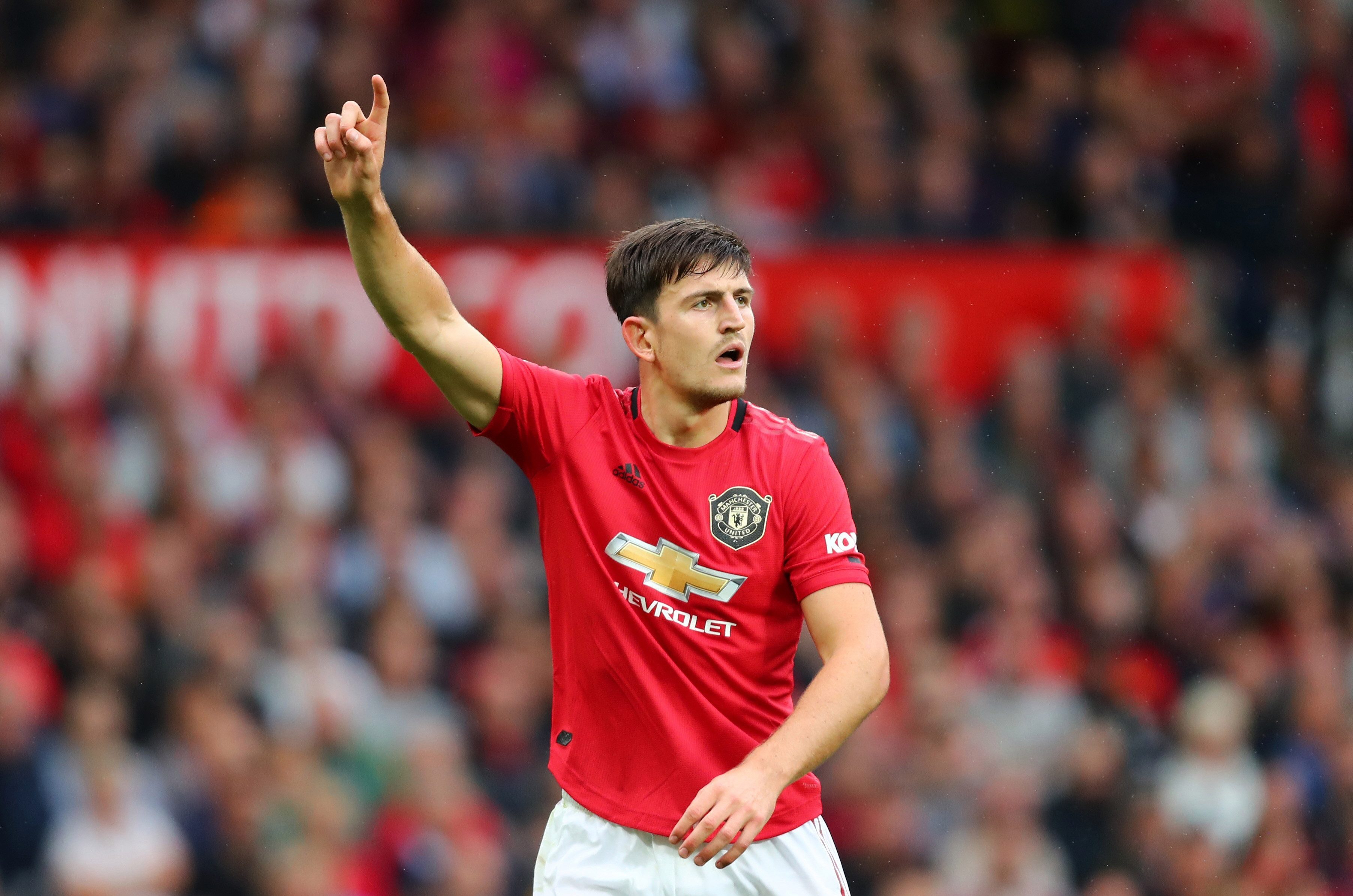 Maguire helped United keep a clean sheet against Chelsea
