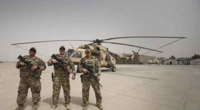 Raytheon tapped for Afghan air force maintenance training