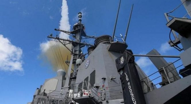 Raytheon wins $13.2 million contract for SM-2, SM-6 missile support