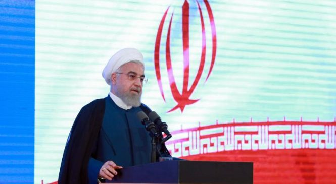 Rouhani: U.S.-Iran relations won't improve until sanctions are lifted