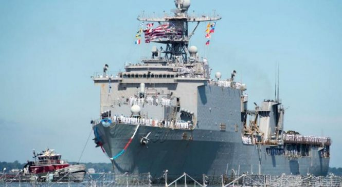 USS Carter Hall travels to Brazil for UNITAS LX exercises