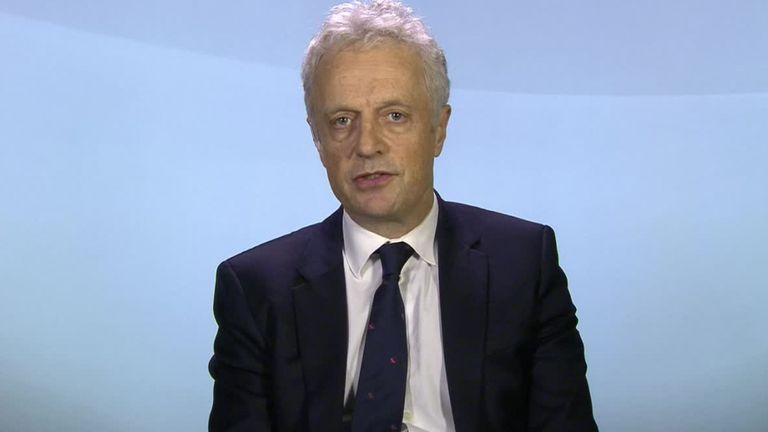 Francis Egan is chief executive of Cuadrilla Resources