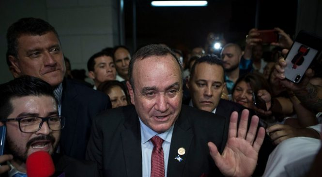 Guatemalans worry about graft after Giammattei wins election