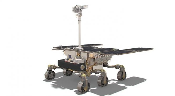 'Rosalind Franklin' Mars rover assembly completed