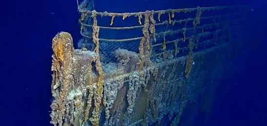 Titanic sub dive reveals parts are being lost to sea
