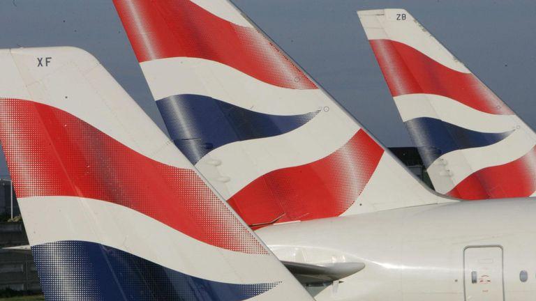British Airways rebooked Mr Allan's flight