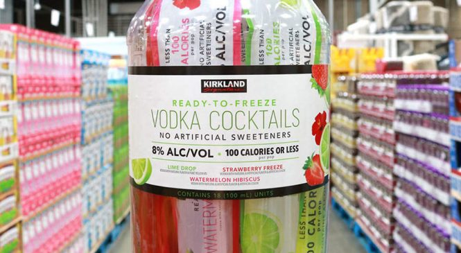 Costco Just Debuted Their Own 100-Calorie Vodka Pops—and They Sound Delicious