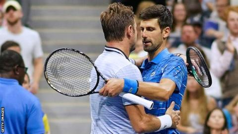 US Open: Novak Djokovic pulls out injured against Stan Wawrinka