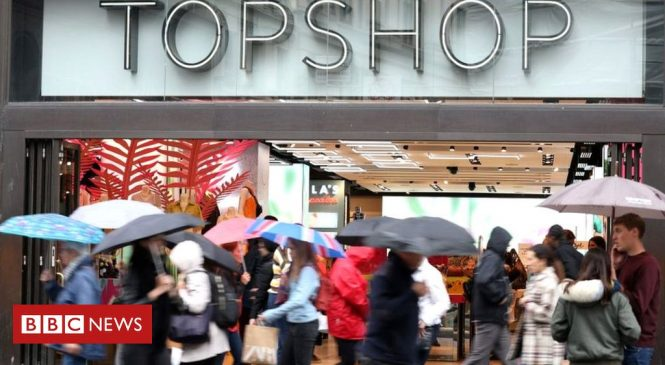 Philip Green's Topshop empire plunges to loss