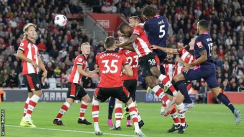 Bournemouth win at Southampton to go third in Premier League table