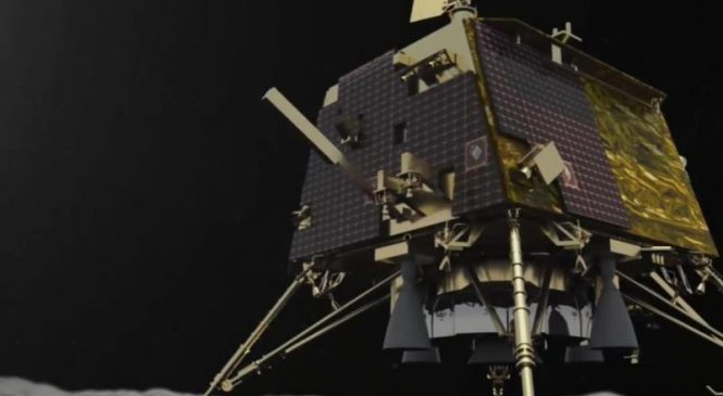 Indian moon lander found after going silent before scheduled landing