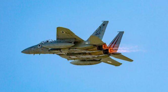 Israeli fighter planes participate in British air exercises