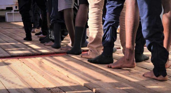 Italy OKs Ocean Viking to dock in Lampedusa, Sicily, with Libyan migrants