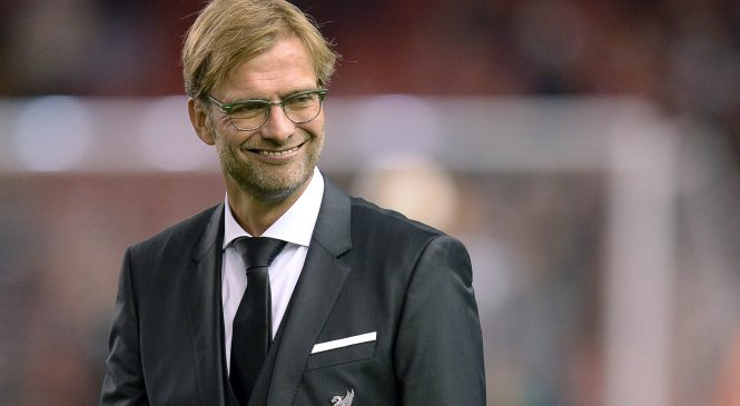 Liverpool boss Jurgen Klopp explains why he won't be wearing a suit on the touchline anytime soon