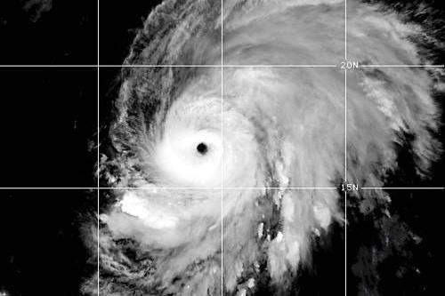 Lorenzo strengthens into hurricane east of Caribbean