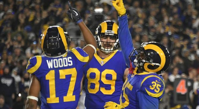 Los Angeles Rams agree to extension with TE Tyler Higbee