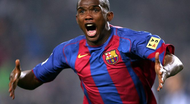 Samuel Eto'o: Former Barcelona, Chelsea and Everton striker retires after glittering 22-year career