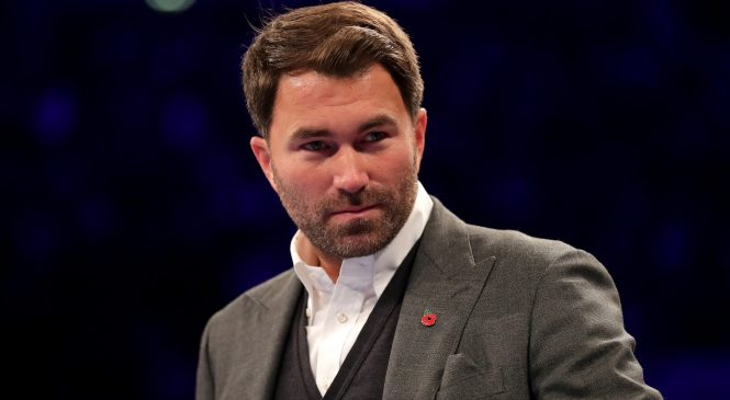 Eddie Hearn's comments about first KSI vs Logan Paul fight may come back to haunt Matchroom promoter after confirming rematch