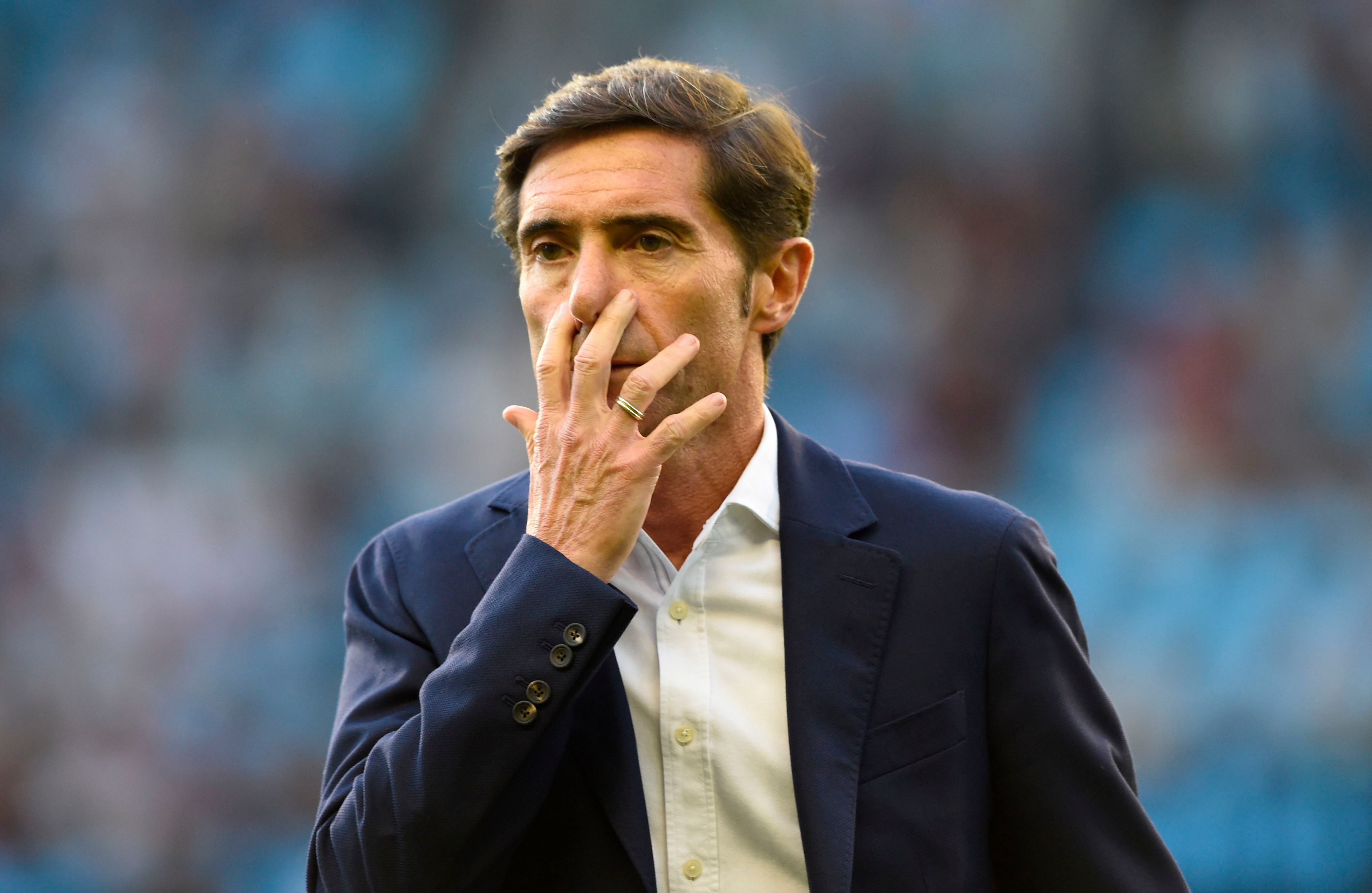 Marcelino's departure from Valencia has angered fans and players alike