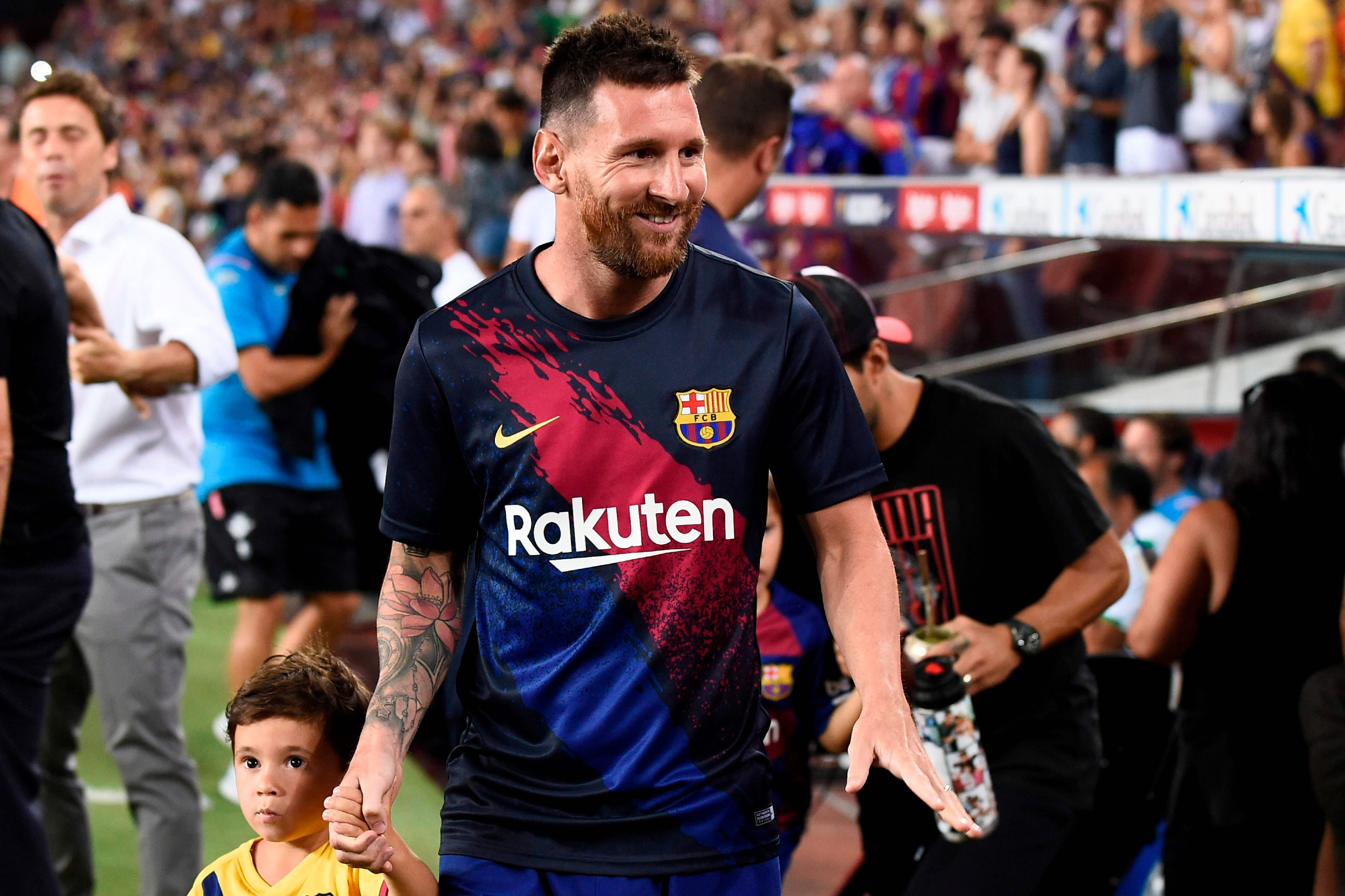 David Beckham 'makes contact' with Barcelona superstar Lionel Messi over sensational move to MLS side Inter Miami