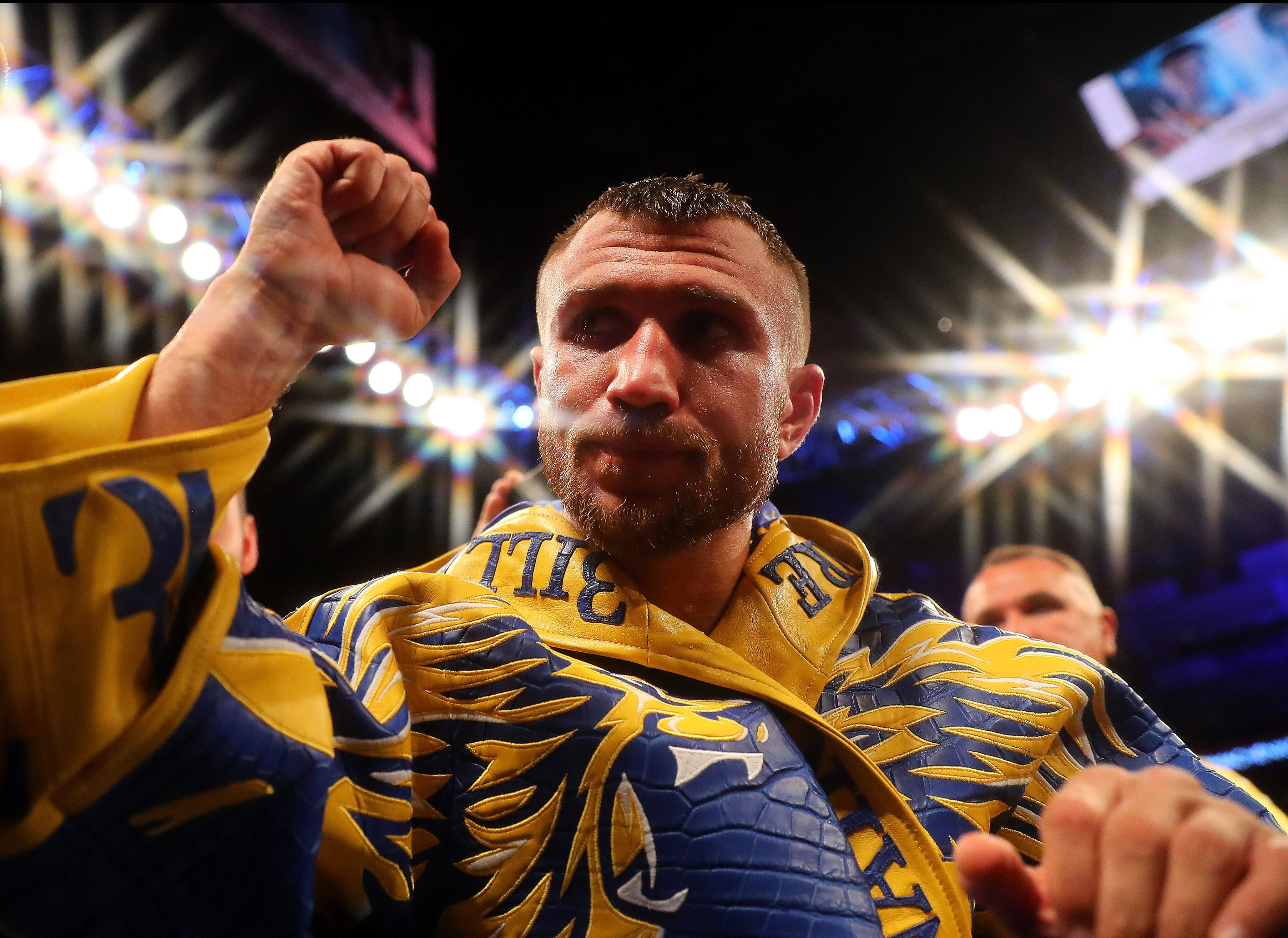 Vasyl Lomachenko seeks unification fight and promises UK return after convincing victory over Luke Campbell