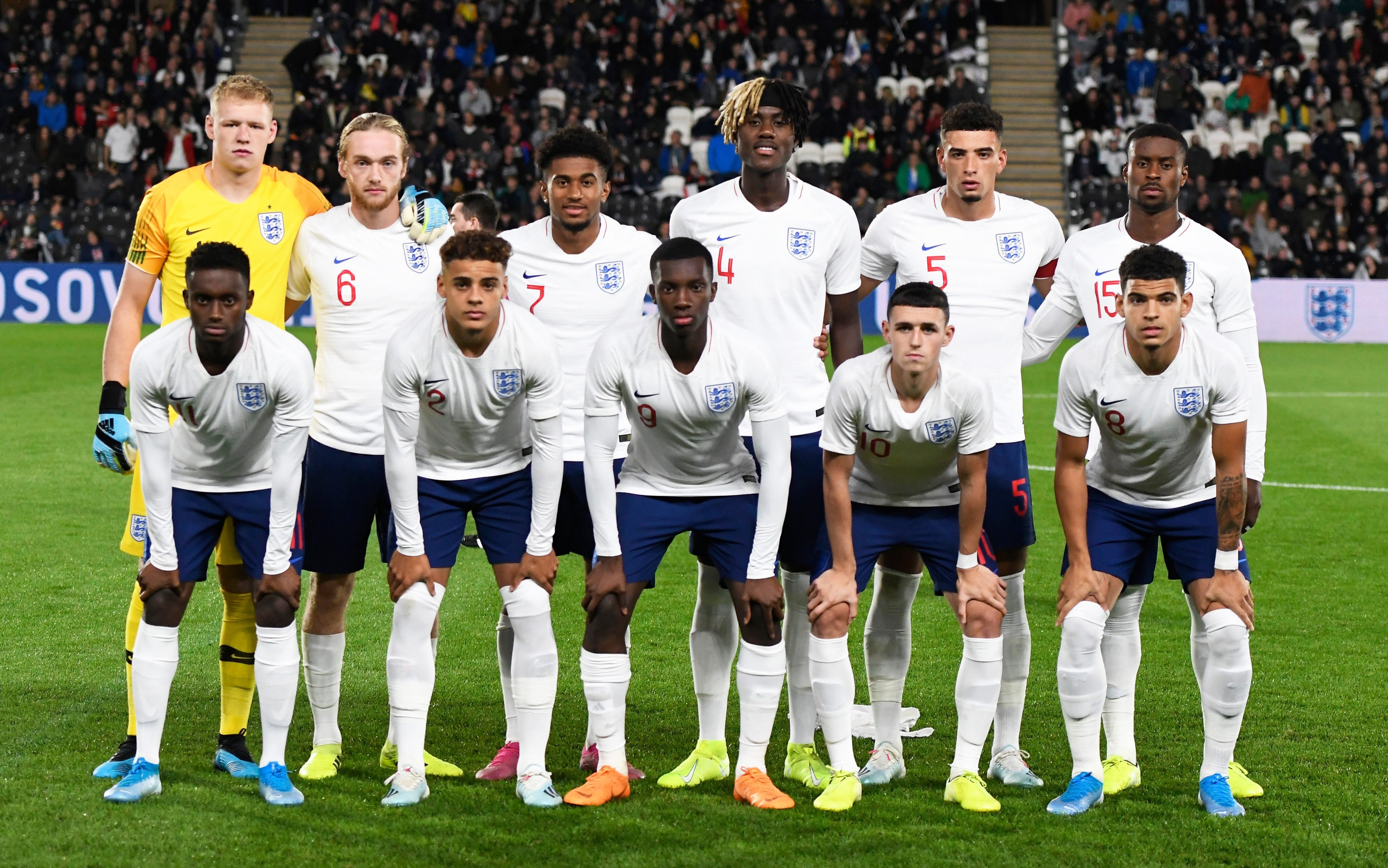 The young English side got the job done